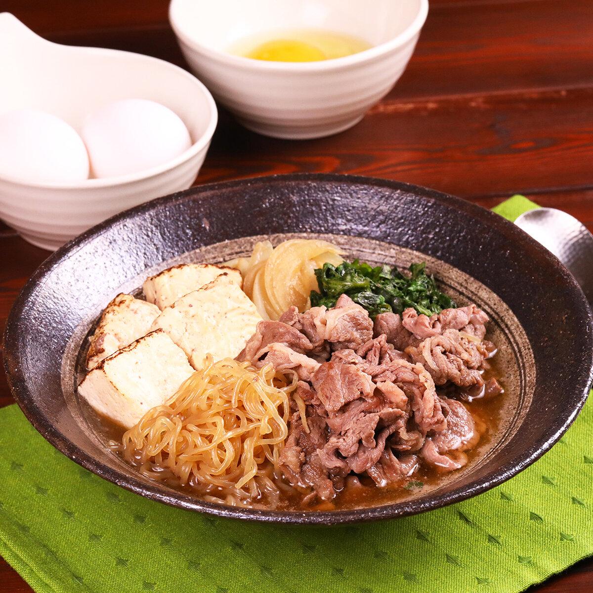 極旨~♪簡単すき焼き風煮&丼