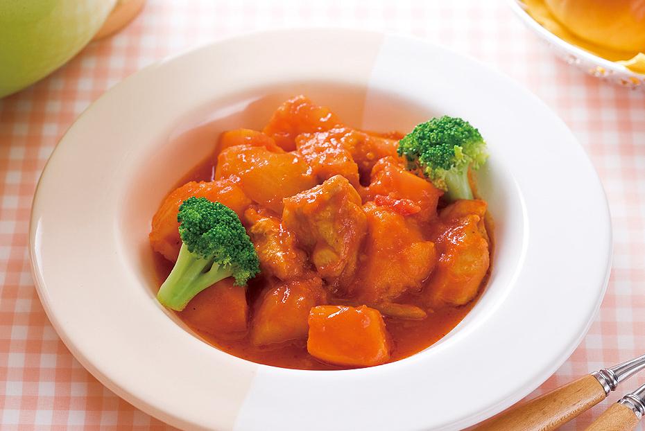 鶏肉のまろやかトマトシチュー